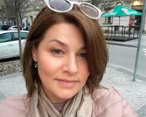 Оксана Крупинская, Прага, бизнес в сфере недвижимости